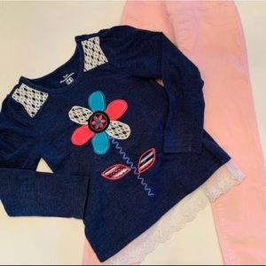 Kids Headquarters Top / Gymboree Cords